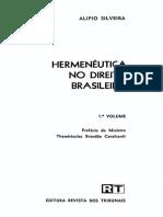 4.1 a 4.3 - SILVEIRA, Alípio. Hermenêutica no direito brasileiro