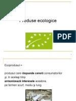 Produsul ecologic