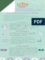 Infografía DV - Condicionantes de La Alimentación