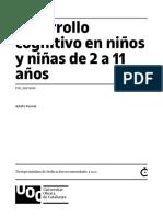 5 - Desarrollo cognitivoen niños de 2-11 años