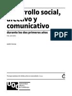4 -Desarrollo Social, Afectivo y Comunicativo -0-2años