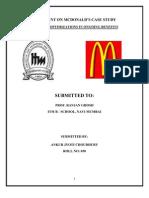 Ankur - McDonald