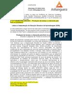 """4º E 5º SEMESTRE ADM 2021 - """"Produção de Laranja e a Demanda Pela Fruta Na Pandemia"""""""