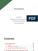 eBook Econometrics