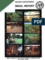 AfricaRice Annual Report 1980