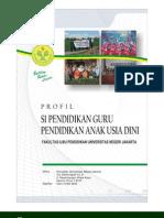 COMPANY PROFILE DAN KURIKULUM PG-PAUD TAHUN 2008