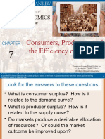 Mi Premium Ch 7 Consumers, Producers, And the Efficiency of Markets