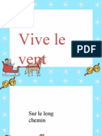 FR T T 7855 Jingle Bells Christmas Carol Lyrics Powerpoint French