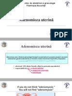 Adenomioza uterina
