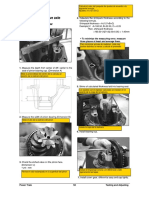 ajuste de diferencial D30S-5