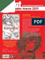 Novedades Glénat Marzo 2011 (solo manga)