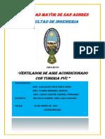 PROYECTO DE VENTILADOR PVC
