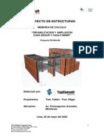 PROYECTO DE REHAB. Y AMPL. CASA EDGAR-CASA FABBRI - MIRAFLORES - MC