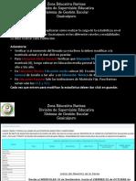 Carga de Estadistica 2020-2021