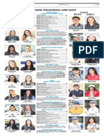 All-dade Volleyball and Golf