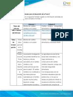 Matriz 2 - Análisis Fase 3