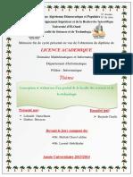 Concception Et Réalisation d'Un Portail de Faculté Des Sciences Et de La Téchnologie