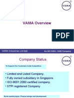 Vama Industries Ltd - Copper