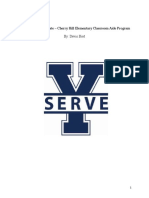 byu service certificate official report