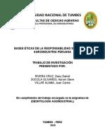 BASES ÉTICAS DE LA RESPONSABILIDAD SOCIAL EN LA AGROINDUSTRIA PERUANA - Rivera C., Socola, Villar