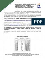 PPGL - Resultado da 2a etapa, Pós-Recurso - Arguição (Entrevista)