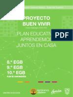 proyecto del buen vivir del programa