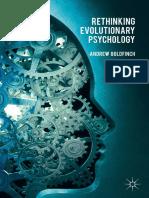 Goldfinch, A. (2015). Rethinking Evolutionary Psychology