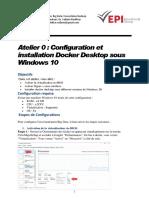 Atelier 1 Configuration Environnement Big Data