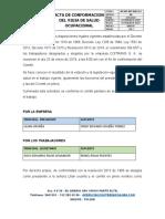 6.0 Acta Conformacion