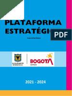 Plataforma Estratégica IDIPRON 2021-2024