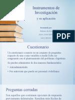 Expo Instrumentos de Investigación