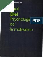 Paul Diel - Psychologie de la motivation-Payot (1969)