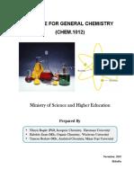 General Chemistry Module