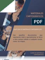 Exposición Materiales Cartográficos