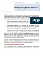 3. Plasticit Comportements m Caniques Non Lin Aires Des Mat Riaux Cours