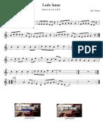 Lado Lunar Rui Veloso Partitura Flauta Educacao Musical Jose Galvao
