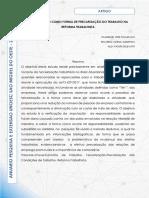 TERCEIRIZAÇÃO COMO FORMA DE PRECARIZAÇÃO DO TRABALHO NA REFORMA TRABALHISTA