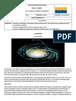 Guía 3 La Vía Láctea