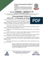 EXPERT 2019 - MÓD IV - AULA 65 - Pneumatologia I - A Plenitude Do Espírito Santo
