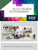 Modelos y Teorías en Enfermería Clase