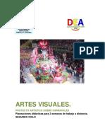 Artes Visuales. Segundo Ciclo. Carnavales