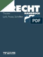 Jan Knopf (Auth.) - Brecht-Handbuch_ Theater, Lyrik, Prosa, Schriften-J.B. Metzler (1984)