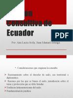 Opinión Consultiva de Ecuador