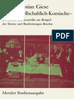 1974 Book DasGesellschaftlich-Komische