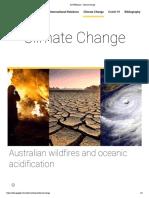 AUSTRALIA - Climate Change Webpage