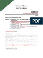 DoD General Spy Training dodi-3305-02