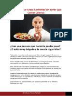 1. Qué comer para Quemar Grasa (GUÍA Transcripción)