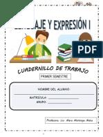 Lenguaje y Expresion i Nombre Del Alumno