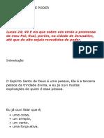 REVESTIDOS DE PODER