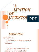 AS-2 VALUATION OF INVENTORIES2
